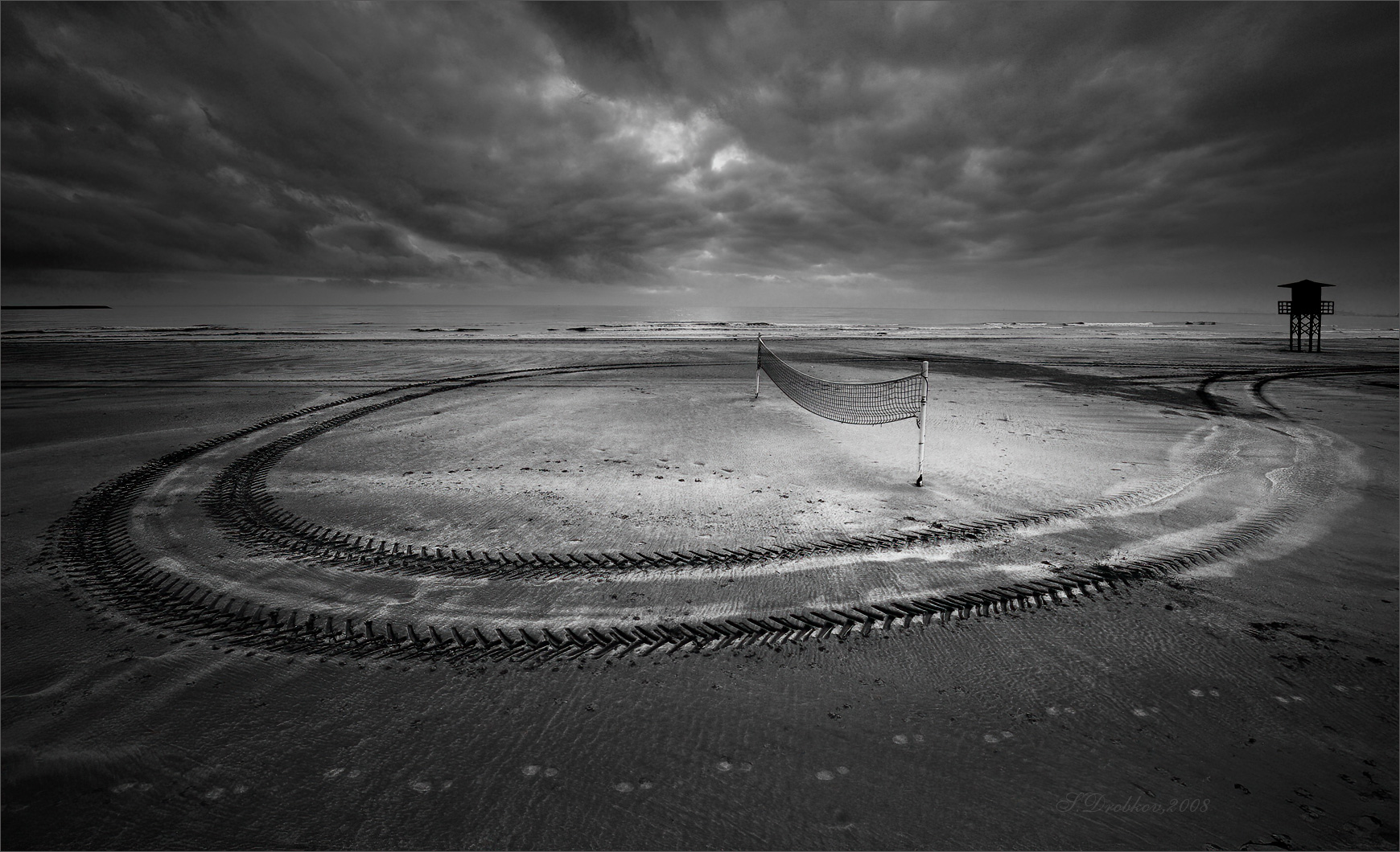Playa de invierno